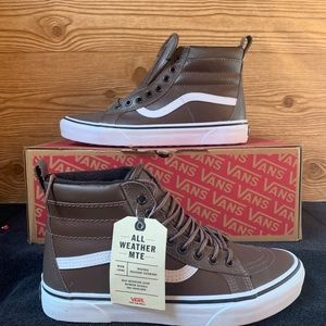 Vans Unisex Sk8 Hi MTE Rain Drum/Leather